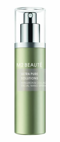 """Ultra Pure Solutions Hyaluron & Collagen Facial Nano Spray"" von M2 Beauté"