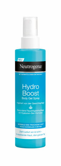 "Hydro Boost Body Gel Spray"" von Neutrogena"