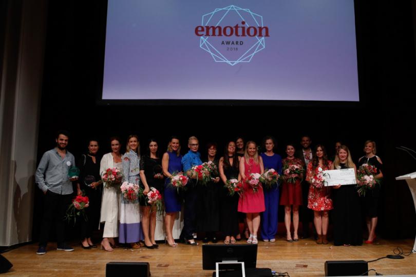 Preisträger/Innen EMOTION.award 2018
