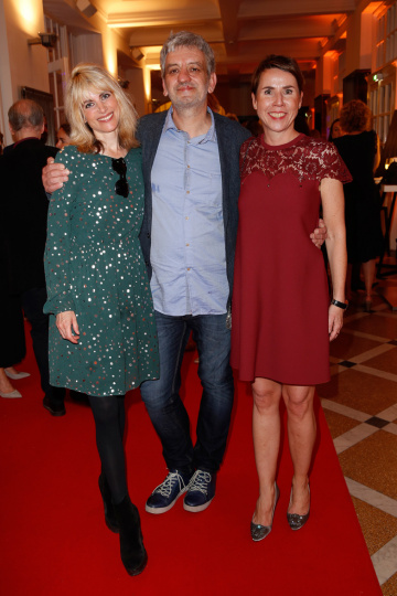 Rebekka Reinhard, Thomas Vasek und Anke Rippert