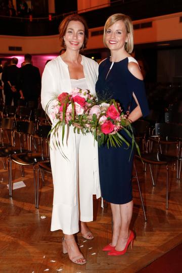 Aglaia Szyszkowitz und Susie Wolff