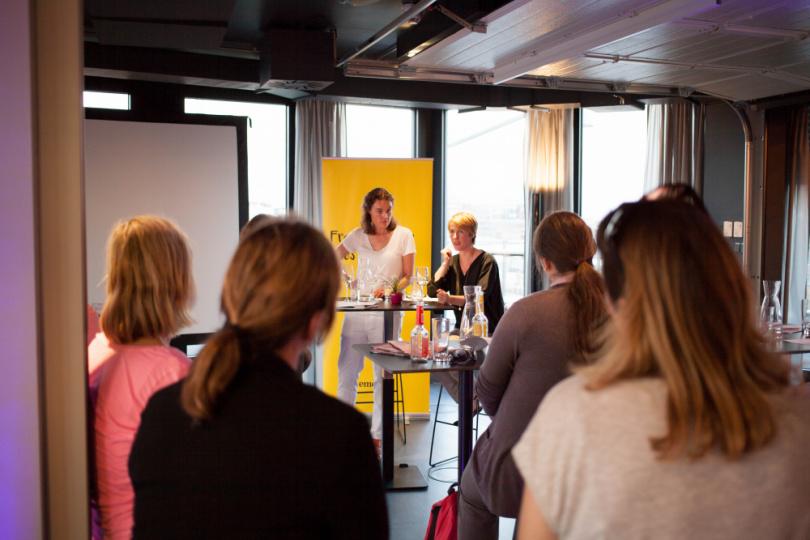 Andrea Huss Vortrag