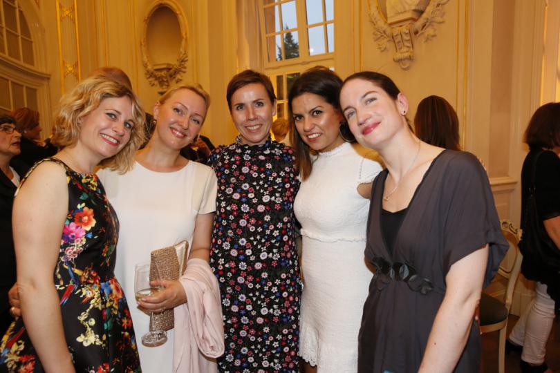 Annika Cleidebrecht, Evelyn Mohr und Anke Rippert