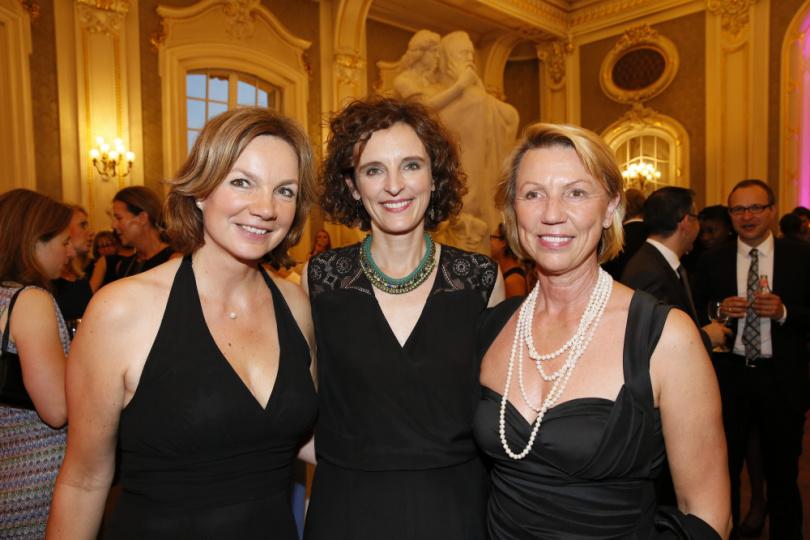 Tina Lirfel, Katarzyna Mol-Wol und Daniela Lindner