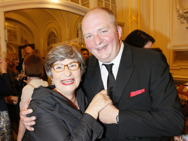 Bettina Wolf und Jörg Thadeusz