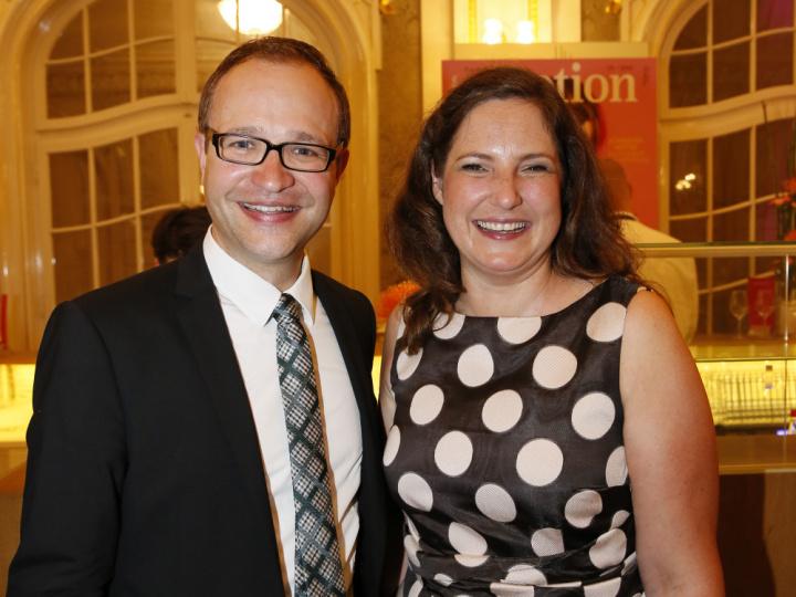 David Matern und Saskia Gartzen