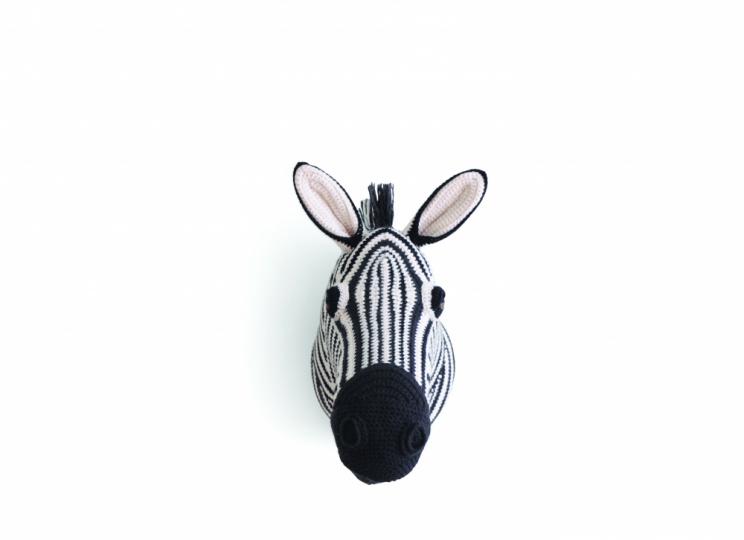 Tierische Trophäen Zebra