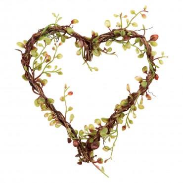 Herz Blätterranke von Depot