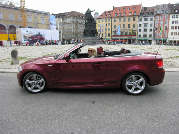 rendezvous mit dem bmw 1er cabrio. Black Bedroom Furniture Sets. Home Design Ideas