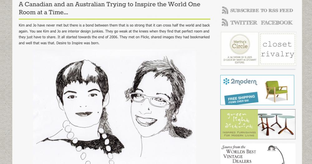 Blog: desire to inspire