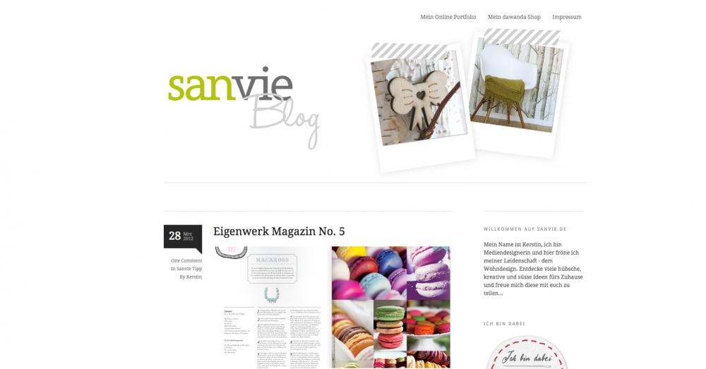 Blog: Sanvie
