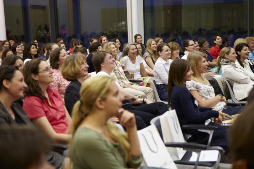 Interessiertes Publikum