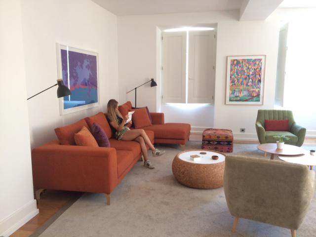 Entspannung im Wohnzimmer