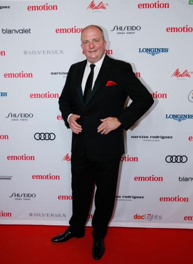 Moderator Jörg Thaddeus