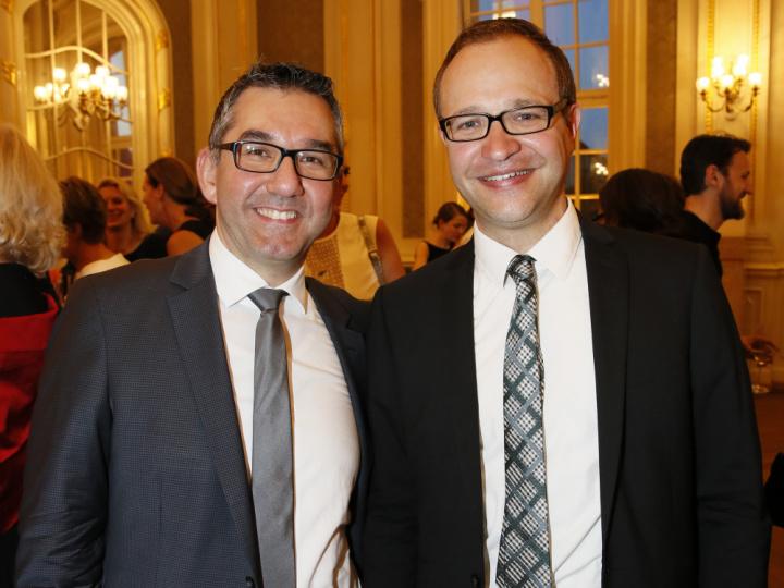 Murat Kalavaoglo und David Matern
