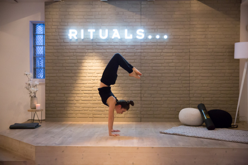 Rituals Event Yoga Pose