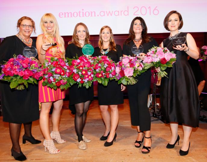 Gewinnerinnen EMOTION.award 2016