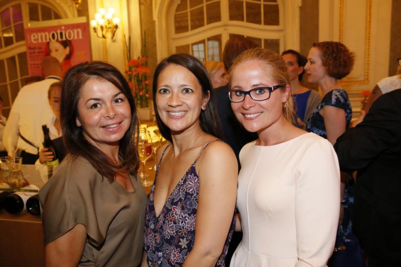 Sonia Rutha, Christina Beste und Juliane Kassen