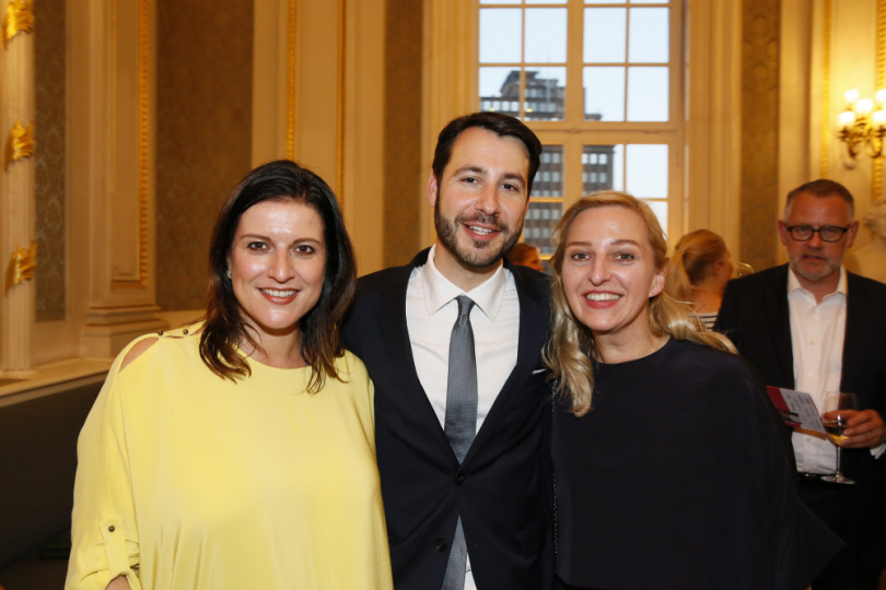 Stephanie Dettmann, Jonas Wolf und Christina Roth