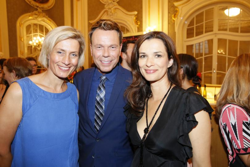 Susanne Stichler, Ulf Ansorge und Julia-Niharika Sen