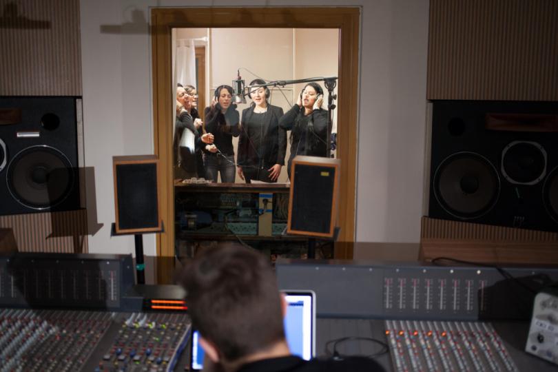 Tonstudio Aufnahmen