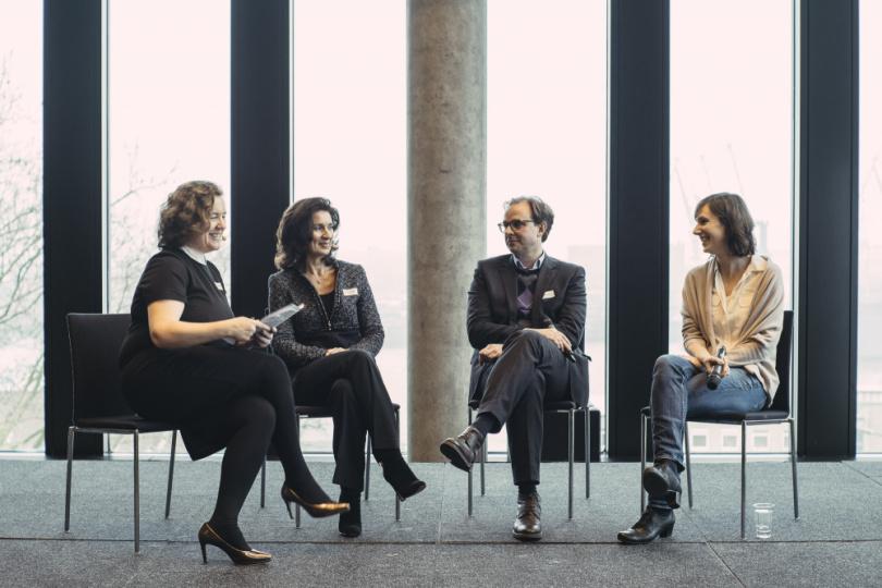 Julia Möhn, Evelyne Freitag, Henrik Falk, Hannah König (v.l.)