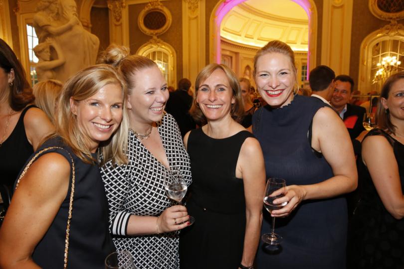 Patricia Heydemann, Carolin Henk und Christine Bausewein
