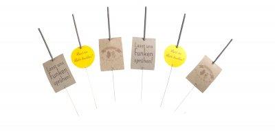 Wunderkerzen-Etiketten von Makerist