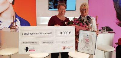 Million Chances Award 2018: Gewinner Social Business Women e.V.