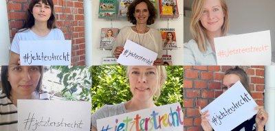 #jetzterstrecht: Emotion für Gleichberechtigung