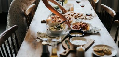 Kochen mit Freunden