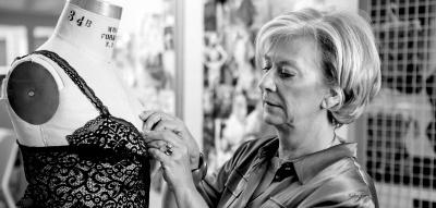 """Lingerie-Designerin Liesbeth Van de Velde im Interview: """"Sexy und Support schließen einander nicht aus"""""""