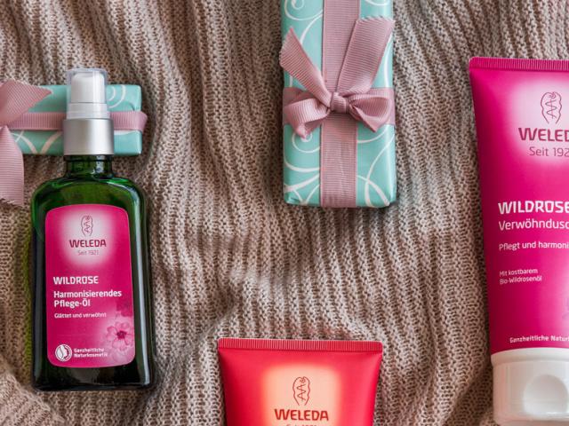 Weleda Weihnachtsset Wildrose