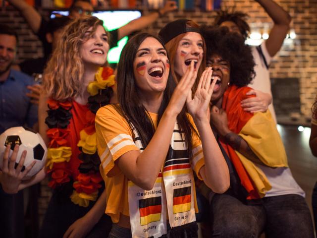 Fußballfans Deutschland