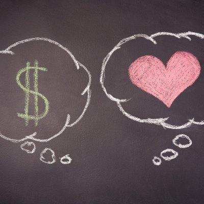 Test: Geld oder Liebe