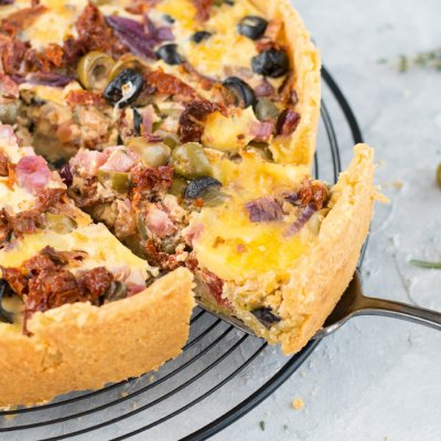 Antipasti-Quiche