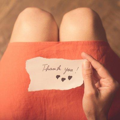 Dankbar sein - wofür bist du dankbar?