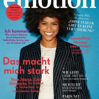 EMOTION Ausgabe 091020 Titel