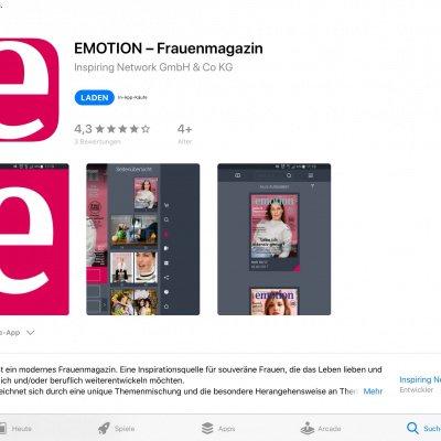 EMOTION als App lesen