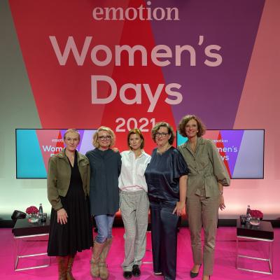 EMOTION Women's Days – unser Team