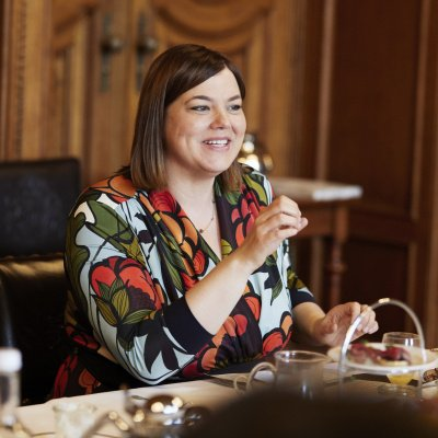 Katharina Fegebank: Frühstück im Rathaus zum Weltfrauentag