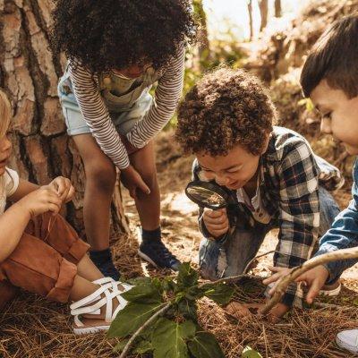 Mit Kindern die Natur entdecken.