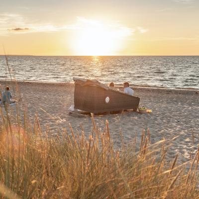 Schlafstrandkorb Ostsee