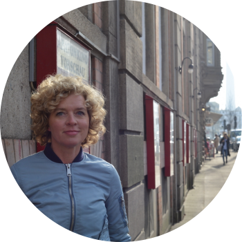 "Buchautorin und Moderatorin (""Frau-TV"") Lisa Ortgies"